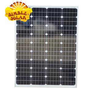 12V 100W Bimble Mono Solar Panel - New A Grade - small size to fit small spaces