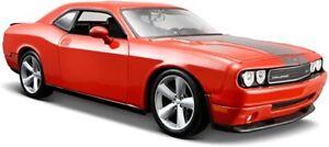 2008 DOGE CHALLENGER SRT8 SPORTS CAR, HEMI, MOPAR GENERAL LEE ORANGE, 1:24, NEW