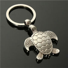 1PC Sea Turtle Pendent Keychains Keyring Keyfob Key Ring Holder Lovely Gift AUIY