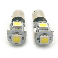 2x Green 5 SMD LED Side Light BAX9S H6W 434 Fits Alfa Romeo GT GTV AMSL1015G