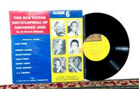 "RCA Victor Encyclopedia Of Recorded Jazz: Album 6 - Hin To Joh, 10"", 1956 - EX"