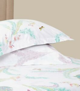 """EVASION BY YVES DELORME 18"""" DEEP POCKET COTTON SATEEN FITTED SHEET CAL KING"""