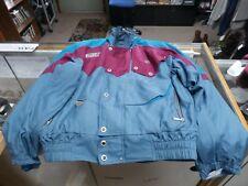 Spyder Men's Ski/Snowboard Jacket Size Large Teal Polyester Nylon Blend #16794