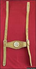 1940s Vintage Bavarian Child Leather Suspenders Chest Straps