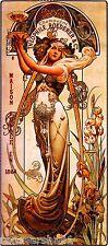 1864 Champagne Vintage French Nouveau France Poster Print Advertisement