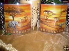 Tischlicht/Windlicht Steppe Afrikas - Afrika