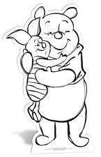 Winnie the pooh Couleur & conserver en carton découpé peinture / couleur dans votre propre ajouré