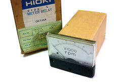 NIB HIOKI U-100 DC1MA 0-10000 RPM METER RELAY CM004870 12.F1216 U20B KAT011 U100