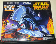 STAR WARS DROID TRI-FIGHTER + BUZZ DROIDS  REVENGE OF THE SITH NEW RARE MINT