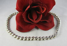 """Sterling Silver Gorgeous Italy 16""""  Beaded  35g Necklace FERAL  CAT RESCUE"""