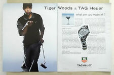 B597-Advertising Pubblicità-2005 - TAG HEUER TIGER WOODS TESTIMONIAL