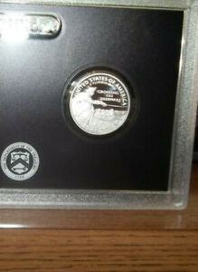 2021-S Washington Crossing the Delaware Silver Proof Quarter 25 Cents