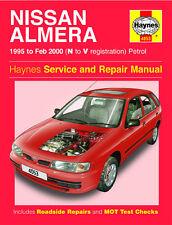4053 Haynes Nissan Almera Benzina (95-FEBBRAIO 00) N a V Manuale di Officina