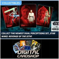 Topps Star Wars Card Trader Dual Perceptions Revenge of the Sith Standard Set 20