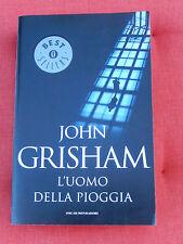L' UOMO DELLA PIOGGIA John Grisham Mondadori Oscar 2014