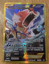 Pokemon shiny Gyarados EX full art holo secret rare 123/122