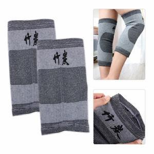 1 Pair Thermal Knee pad Joints Warmers Flexible Elasticated Sleeve Arthritis L