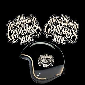 The Distinguished Gentleman's Ride pegatinas sticker cafe racer bobber moto dgr