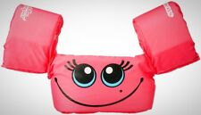 Stearns Puddle Jumper Basic Life Jacket, Pink Smile Swimming Float 30-50 lbs New