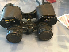 Vintage Excelsior Coated Optics 8x 30mm Field 7.5 Nbt-1118 Binoculars