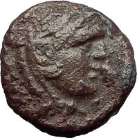PHILIP V 220BC Macedonia RARE Genuine Ancient Greek Coin HERCULES & HORSE i60875