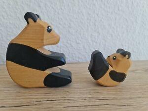 Ostheimer Tiere : 2 PANDA- Bären, groß und klein