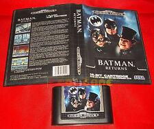 BATMAN RETURNS Sega Mega Drive Return Versione Europea PAL ○ SENZA MANUALE - DH