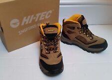 Kids Boys HI-TEC waterproof Hiking Walking Winter Snow Boots Non Skid soles UK 1