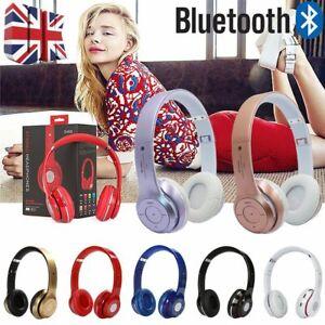 Wireless Bluetooth Headphones Noise Cancelling Over-Ear Stereo Earphones UK