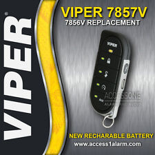 Viper 7856V 2-Way LED Remote Control Replacement With Rechargeable Battery 7857V