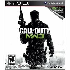 Call of Duty: Modern Warfare 3 (Sony PlayStation 3,with DLCs