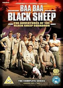 BAA BAA BLACK SHEEP Season 1 + 2 (Region 4) DVD The Complete Series One and Two