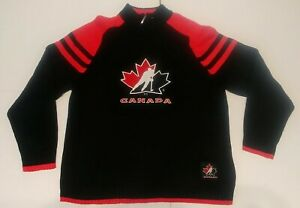 Team Canada Sweater Large New