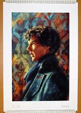 Sherlock A Study in Cyan - Alice X Zhang Limited Edition - Benedict Cumberbatch