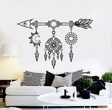 Vinyl Wall Decal Dreamcatcher Arrow Ethnic Art Stickers Mural (ig4609)