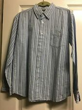 Marks and Spencer Boys' 100% Cotton Striped Casual Shirts