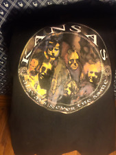 Kansas Tour T-Shirt  1998  Always Never the Same  NEW!  Classic Rock  LARGE
