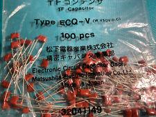 Capacitor Ecq 033uf 50v Dip 100 Pcs Panasonic