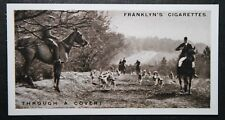 Tedworth Foxhounds   Wiltshire    Vintage 1920's Foxhunting Photo Card ## EXC