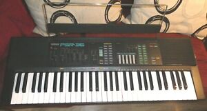 Yamaha PSR-36 keyboard, GWO with stand, FM synth section, DX7 on the cheap!
