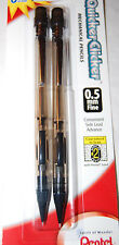 Vintage! Pentel Quicker Clicker Lead Pencil No Grip Old Style Side Click 0.5 mm