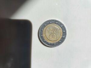 Pièce de 2 euros éire AEA 1999-2002 EMU rare (collection)
