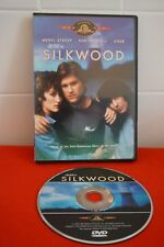 Silkwood (DVD, 2003) RARE MGM MOVIE OUT OF PRINT OOP CHER KURT RUSSELL