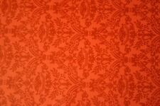 Vintage Birge Wallpaper Red Pink Damask Design Bold Accent Wall 1 Roll #P9029