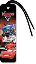 Disney Cars 2 Pixar Bookmark Lightning McQueen Francesco Shu Max Raoul Party NEW