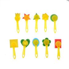 Schwammbürsten Griff Farbe Pinsel Werkzeuge Kinder DIY Kunst OHK TOP J L DM