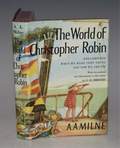 A. A. Milne The World of Christopher Robin Methuen Children's Books DUSTWRAPPER
