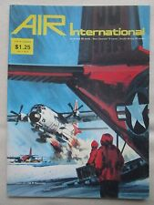 AIR INTERNATIONAL 12/74 HARRIER VIFF HAWK C-130 HERCULES BOEING B-17 RAF FOKKER