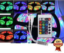 Boat Accent Light Waterproof LED Lighting Strip 16ft 300LED RGB 24KEY IR Remote