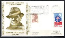 1983-Fdc-Enveloppe Philatélique 1°Jour**J.Moulin-Flamme.Metz-Timbre Yt.1885/2239